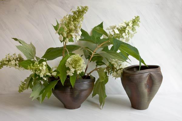 http://catherinewhite.com/rough-ideas/images/05-oakleaf-hydrangea-2vases.jpg