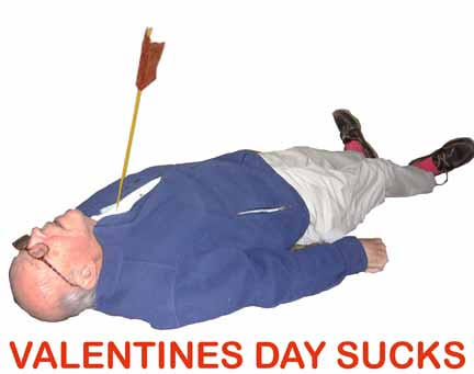 dad only wore red socks and this was his final valentines day card sent to me via email